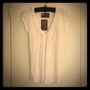 New White Zara Top